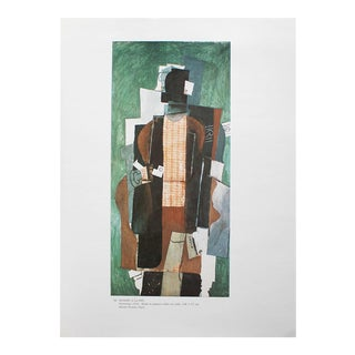 """1985 Pablo Picasso """"Man With the Pipe"""" Parisian Photogravure For Sale"""
