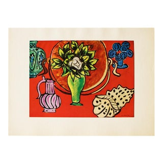 1940s Henri Matisse, Still Life With Magnolia Original Period Lithograph For Sale