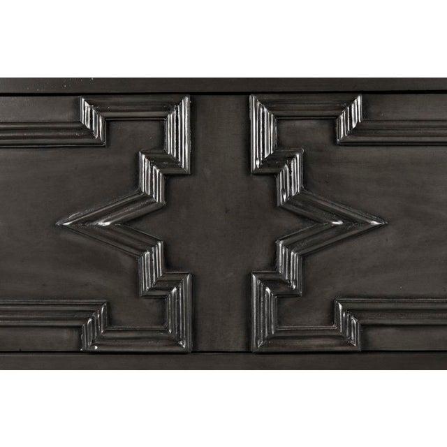 Madrid Hutch, Pale, hutch, wood, mahogany, hutch, 4 drawers