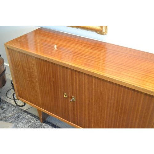 Mid-Century Mahogany Sideboard From France, C.1960 For Sale - Image 4 of 13