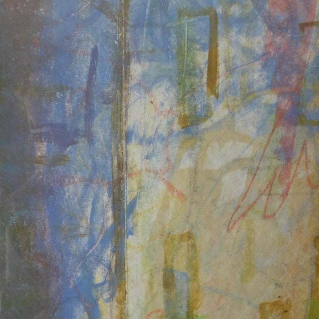 1998 Christopher Le Brun Untitled Abstract Monotype - Image 4 of 7