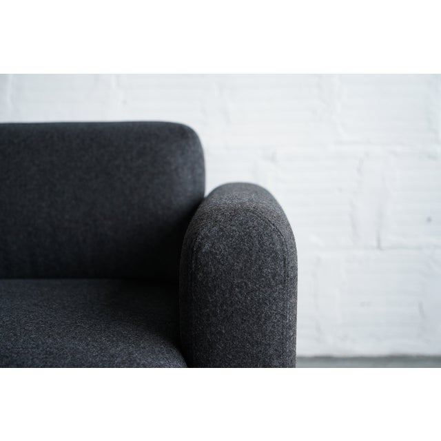 Not Yet Made - Made To Order Modern Billow Lounge Chair For Sale - Image 5 of 7