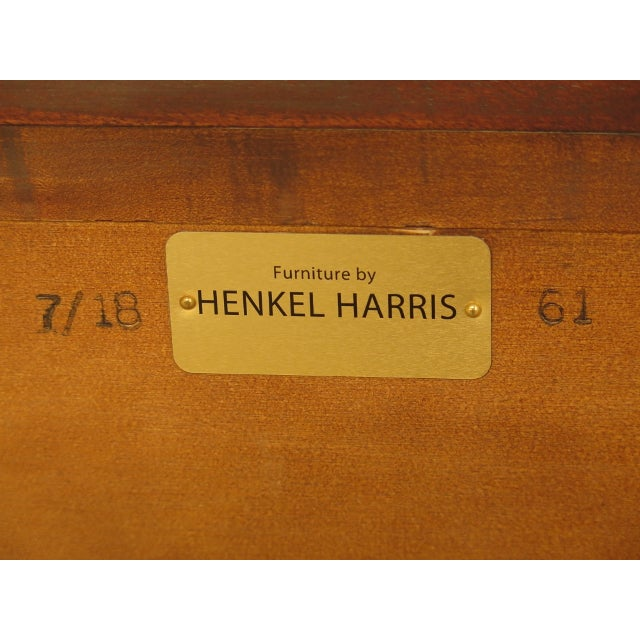 Henkel Harris Mahogany Dresser For Sale - Image 10 of 13