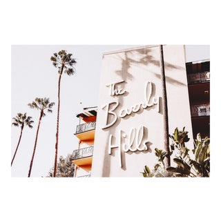 """The Beverly Hills"" Original Framed Photograph For Sale"