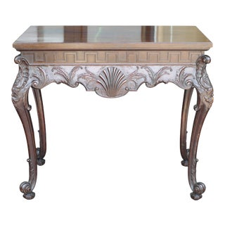 19th Century Irish Chippendale Console For Sale