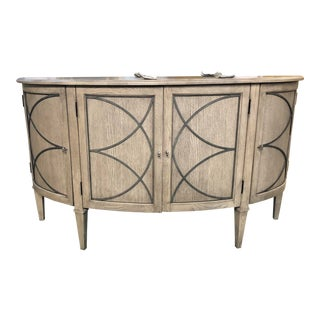 Traditional Marquesa Oak Sideboard For Sale