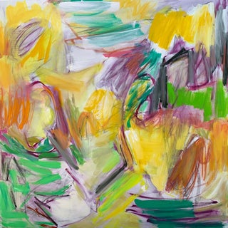 """""""Lazy Days"""" by Trixie Pitts Abstract Expressionist Oil Painting For Sale"""