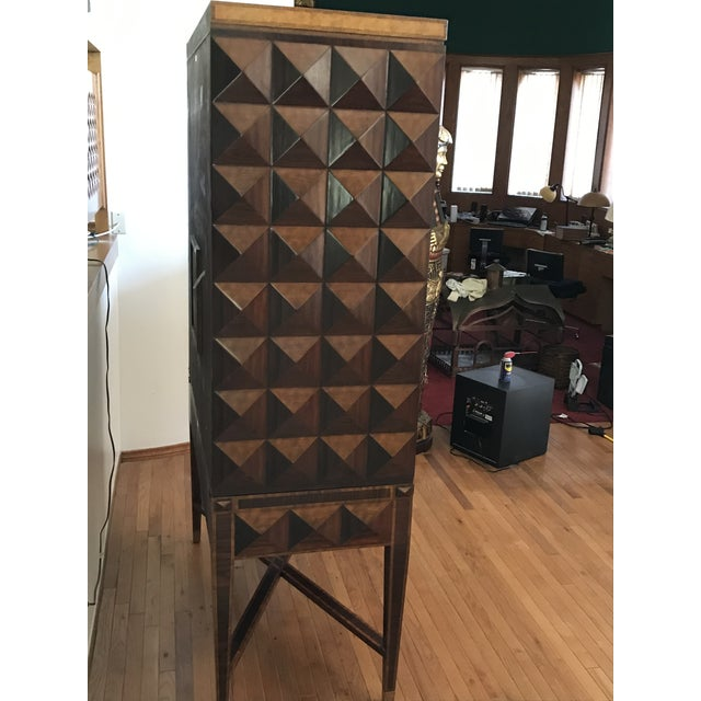 1990s Maitland Smith Armoire For Sale - Image 10 of 13