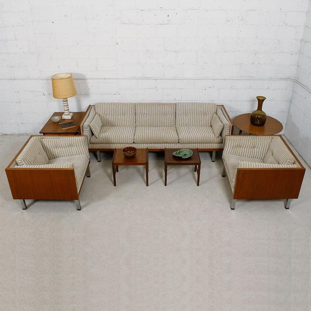 Jydsk of Denmark Interform Collection Teak Case Sofa - Image 5 of 8
