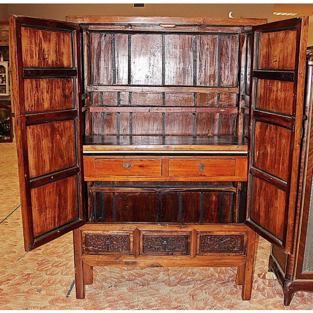 Chinese Armoire Cabinet For Sale In West Palm - Image 6 of 9