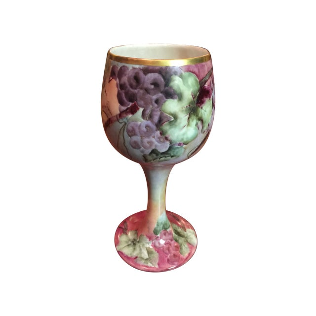 Antique Willets Belleek Porcelain Chalice For Sale