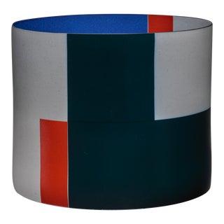 Large Bodil Manz porcelain vessel, Denmark For Sale