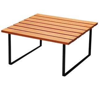 1950 Slat Table by Dutch Architect