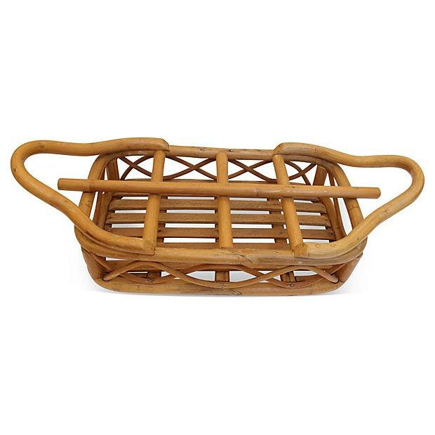 Rattan Bottle Caddy - Image 4 of 4
