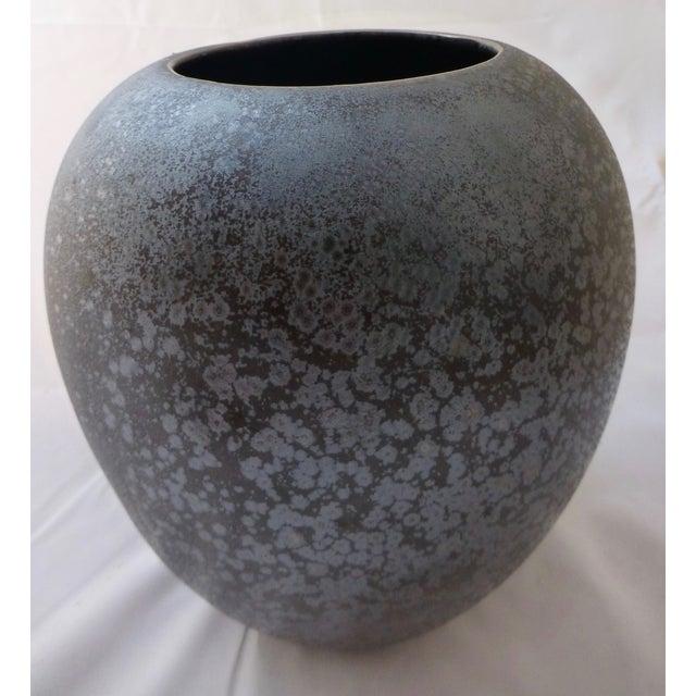 Mid Century Studio Pottery Crystalline Vase Chairish