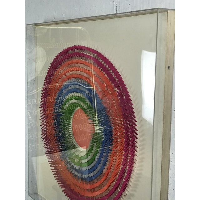 Late 20th Century Large Modernist Paper Sculpture by Irving Harper For Sale - Image 5 of 12