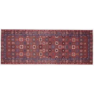 1920s Antique Persian Heriz Oriental Rug - 9′ × 2′6″ For Sale