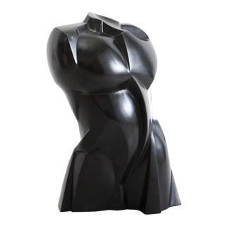 Karl Springer Ltd, Bronze Torso Sculpture, Usa, 2018 For Sale