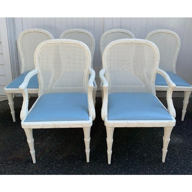 Serge Roche Style Dining Chairs - Set of 6 For Sale - Image 9 of 13