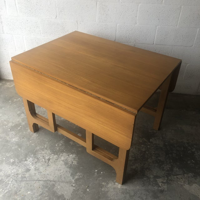 Vintage Mid Century Modern Expanding Dining Table by Edward Wormley for Drexel Furniture For Sale - Image 13 of 13