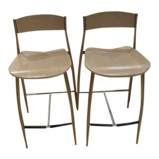 Design Within Reach Counter Stools- a Pair For Sale