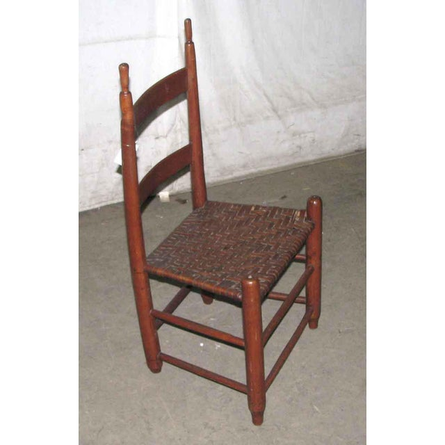 Antique American Cherry Chair For Sale - Image 5 of 6