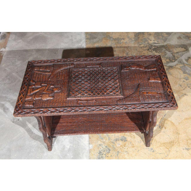 African Coffee Table For Sale - Image 4 of 8
