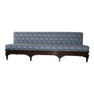 Traditional Clarmont Fabric Upholstered Breakfast Dining Banquet