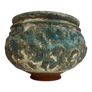 Mid Century Modern Ceramic Urn, Signed For Sale