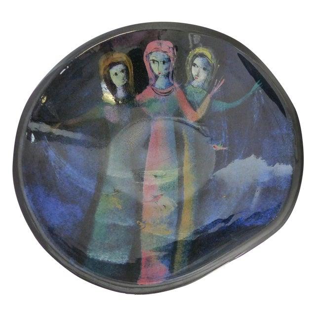 Figural Ceramic Bowl by Polia Pillin - Image 1 of 5