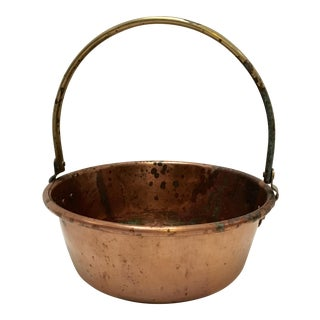 1930's Vintage Copper Preserving Pan