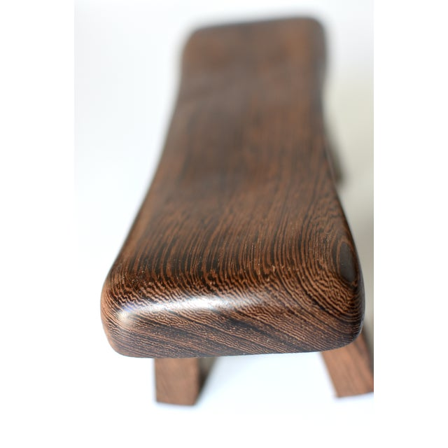 Chinese Rosewood Mini Stools, Hand Rests - a Pair - Image 6 of 13