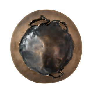 Gil Melott Bespoke Luz Sc Form 37 Bronze Sconce For Sale