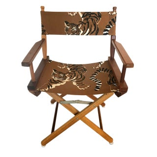 Le Tigre Directors Chair For Sale