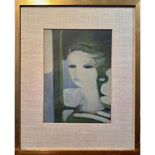 Young Woman by Andre Minaux, 1962 For Sale