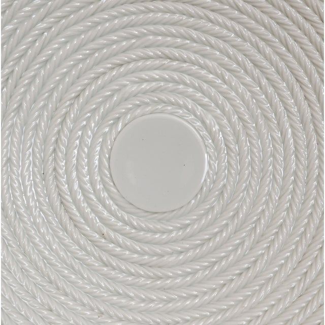 Italian Coiled-Rope Plates - Set of 6 - Image 4 of 5