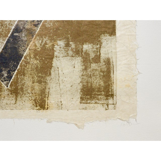 Black and Gold Mono Print by Martha Holden - Image 3 of 3