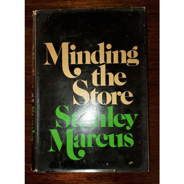 "Late 20th Century ""Minding the Store"" Book by Stanley Marcus 1st Edition Signed For Sale - Image 5 of 13"