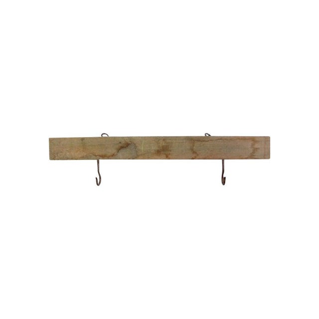 Early 20th Century Vintage Hook Rack For Sale - Image 5 of 5