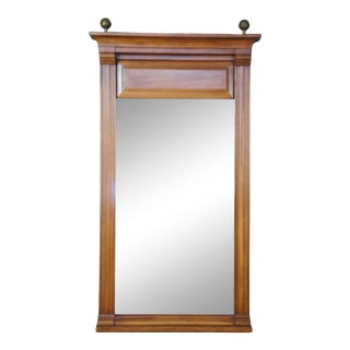 French Empire Baker Fruitwood Mirror For Sale