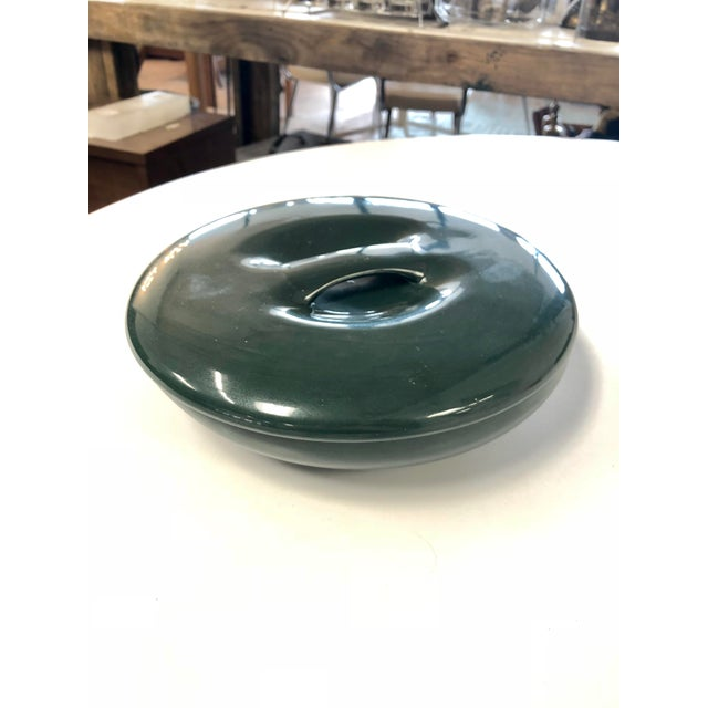 Ceramic Vintage Russell Wright Iroquois Emerald Cassarole Dish For Sale - Image 7 of 7