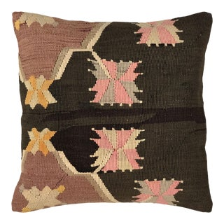 """UpCycled Vintage Kilim Pillow 