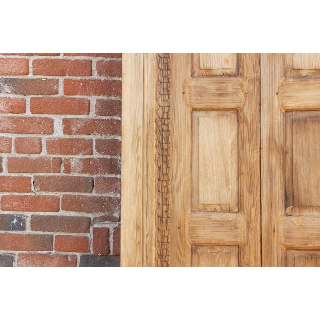 Wood 1800's Indo Portuguese Tall Slim Door For Sale - Image 7 of 11