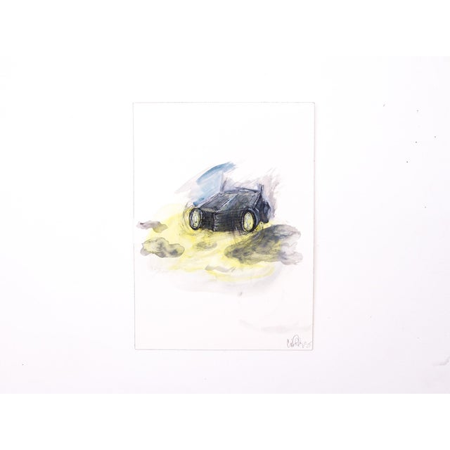 Original watercolor and ink painting by Clif Claycomb. An archival ink drawing with watercolor painted on Arches 140lb...