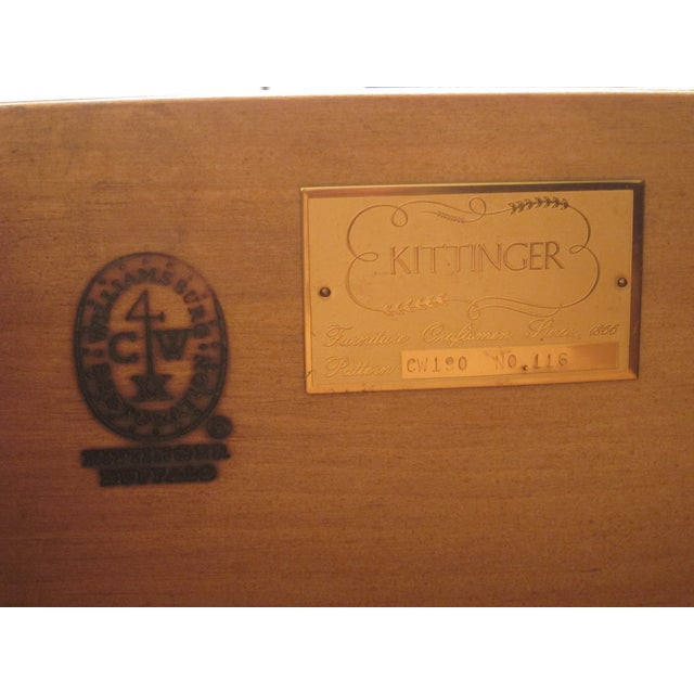 Kittinger Colonial Williamsbug Chest on Chest - Image 10 of 11