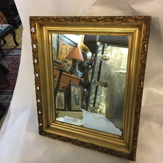 Carved Gold Framed Mirror - Image 2 of 8