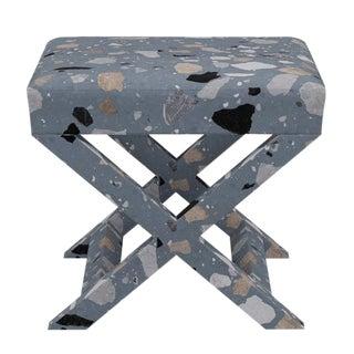 X Bench in Dusty Blue Sperduti For Sale