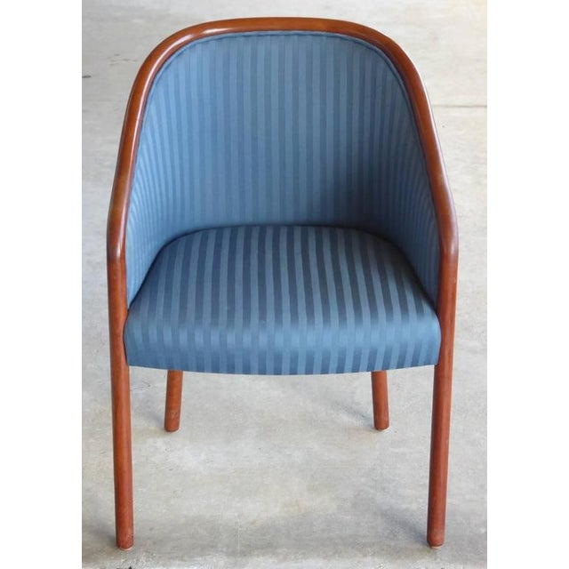 Walnut Banker Chairs by Ward Bennett for Brickel - Image 5 of 10