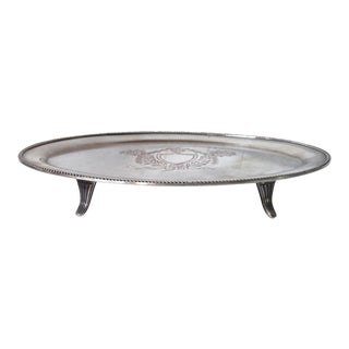 English Footed Salver