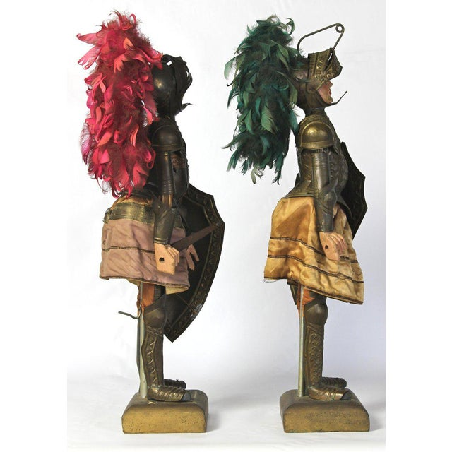 Mid 19th Century Pair of Mid-19th Century Sicilian Marionettes For Sale - Image 5 of 11